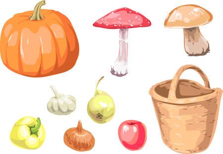 Autumn Collection Stock Vector - 5611117
