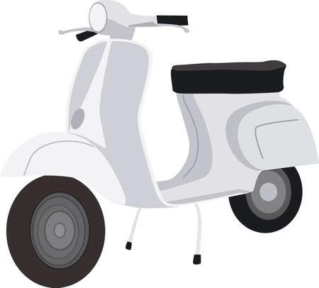 lebensfreude: Grau Scooters
