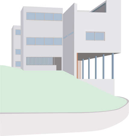 formative: The World Famous Le Corbusier house in the  Weißenhofsiedlung  in Stuttgart  In 1927, this style Formative and still modern and built Pioneering plant