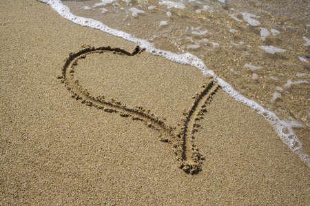 ondulation: temporaire amour ... menteur amour composition. Banque d'images
