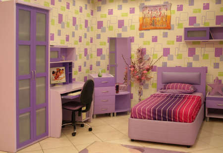 nice accommodations: a teenage bedroom