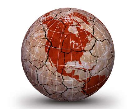 globular: spherical triangle illlustration. Dryland