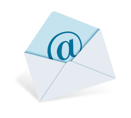 gmail: an e-mail letter that has a @ sign on it