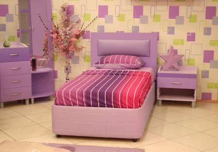 poster bed: a teenage bedroom