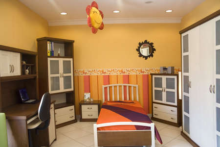 nice accommodations: a child bedroom