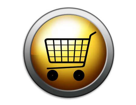 Shopping basket illustration. Shopping. Stock Illustration - 2600514