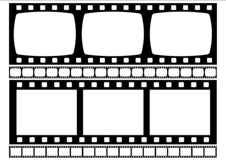 negativity: Film stript illustration. ( Vectorel file in cluding )