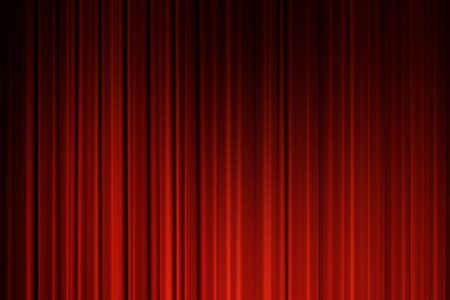 cortinas rojas: Fondo rojo de las cortinas. Fondo de las cortinas de la pel�cula Foto de archivo