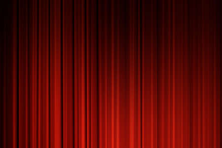 curtain theatre: Red Curtains background. Movie curtains background