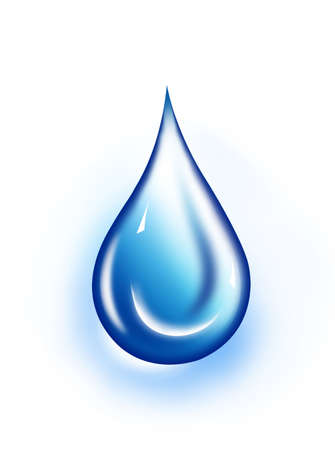 water droplet: Water drop illustration. Water drop background.. Water-drop