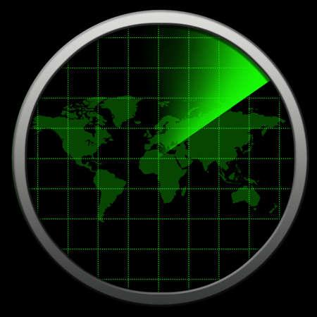 scanned: Globe Radar
