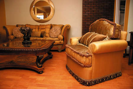 Furniture armchair Stock Photo
