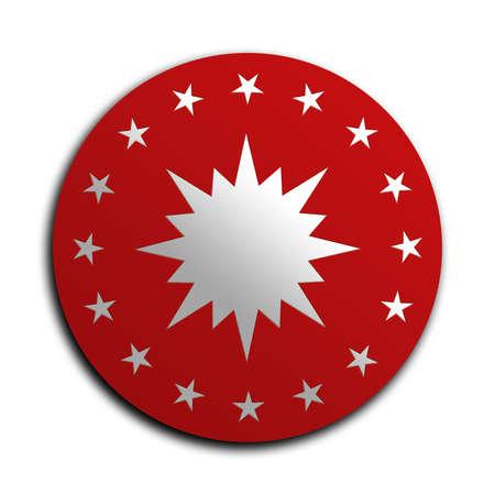 presidency: presidency of Turkish republics amblem. amblem of presidency of Turkish republic