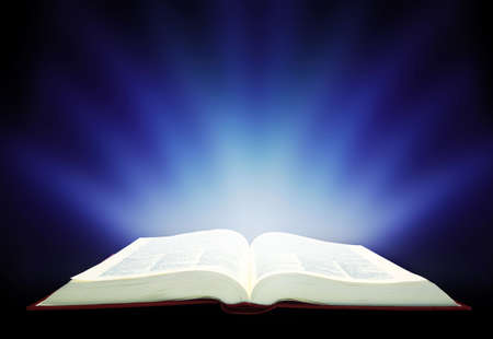 bible open: wide-open book working.  Education concept working..