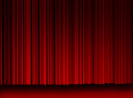 High resulation Movie Curtains background. Movie curtains background