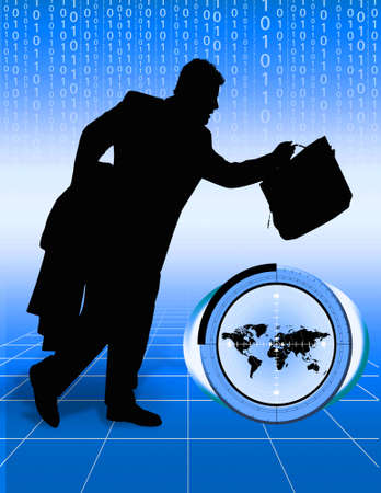 Conceptual image depicting world trade 