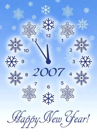 merrychristmas: Christmas snowflake background. Happy New year Background Stock Photo