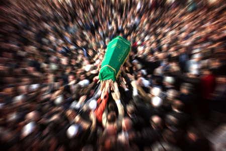 turks: ceromony muerte de los turcos. T�pica ceremonia de la muerte de musulmanes.