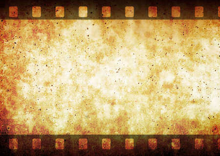 a cartoon film: Film strip frame space.... 35mm filmstrip. Vectorial illustration with old negative film strip