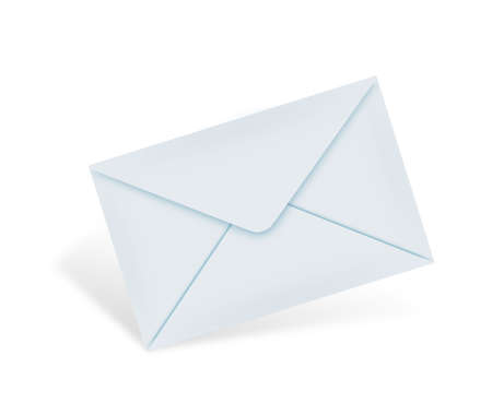 Mail concept. an e-mail letter that has a @ sign on it