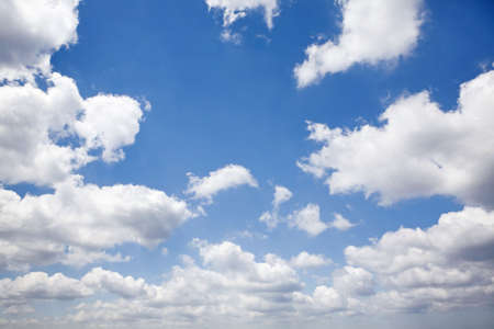 Natural concept background. Sky and clouds background. Stock Photo