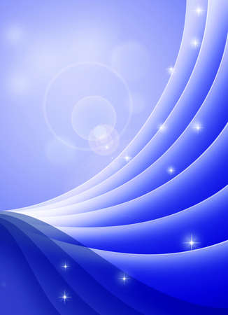 Conceptual waves background. Stock Photo
