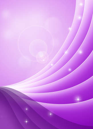 violet red: Conceptual waves background. Stock Photo