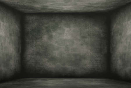 Moldy and vintage old darkroom, Historical wall background. Stock Photo