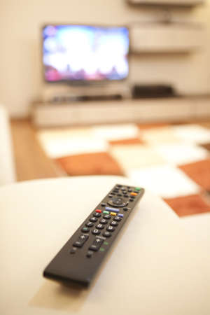 Remote control. The remote controller of a tv photo