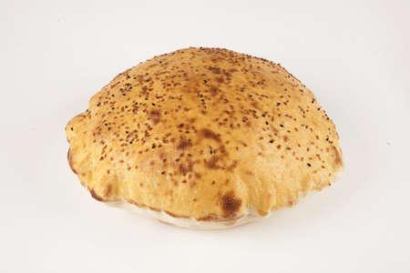 Pita bread. Turkish pita bread.