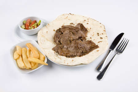 Turkish donner kebab. Donner. Stock Photo - 10836707