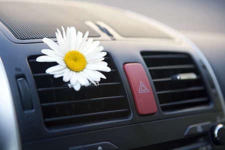 Frais de conditionnement d'air de voiture