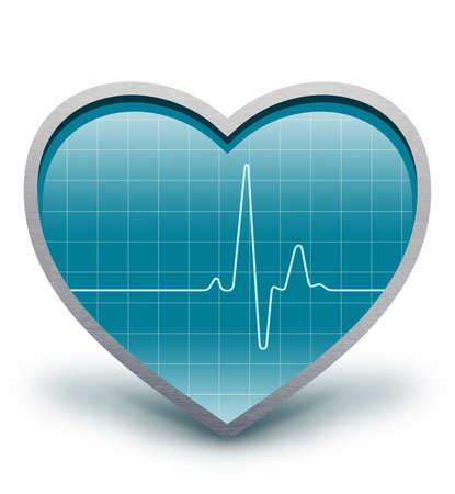 heart rate monitor: Heart beats  Electro cardiogram