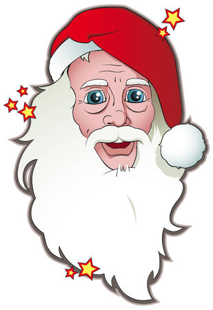 Christmas Santa Claus Stock Vector - 3804208