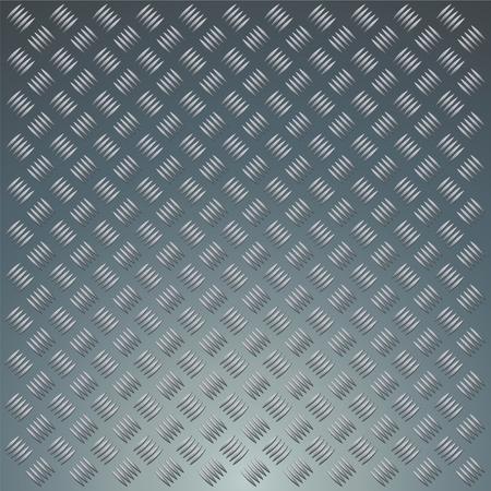 Diamond metal plate background texture Stock Vector - 8128814