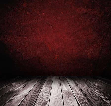 Platform With Red Background Imagens - 132265558