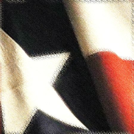 honorable: Texas state flag, Photo based mixed media image