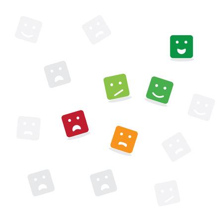Feedback-Konzept Design Standard-Bild - 96526336