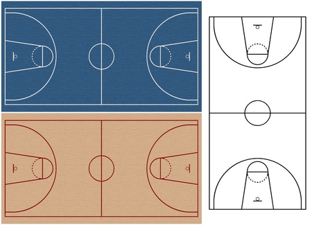 basketball courts photo