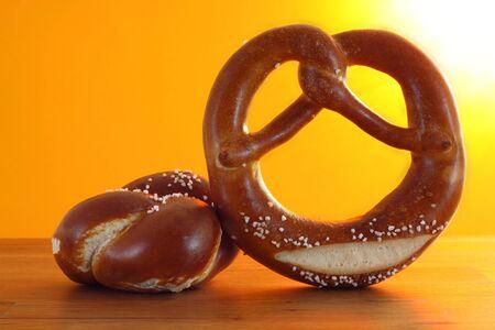 bap: pretzel and bun