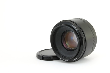 focal: dslr fixed focal lens Stock Photo