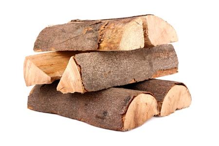 Ein Stapel von Natur Brennholz Standard-Bild - 10061377