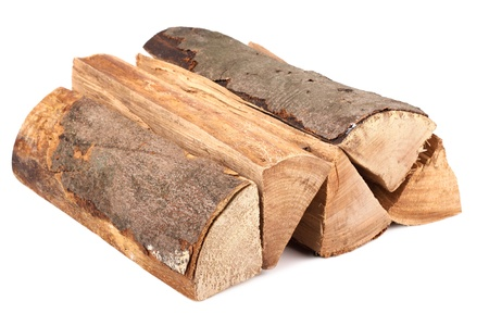 a stack of nature firewood Stock Photo - 10061434