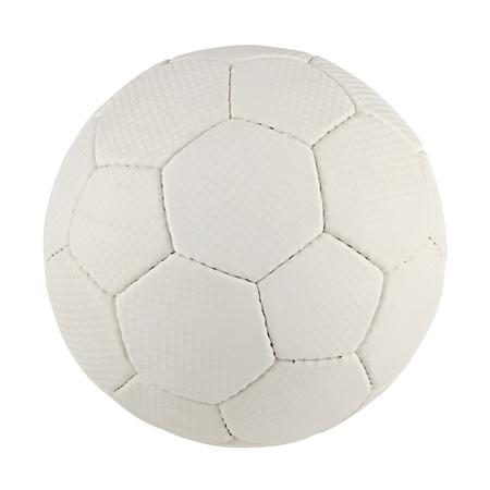 handball: a handball in front of white background