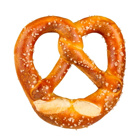 a german pretzel photo