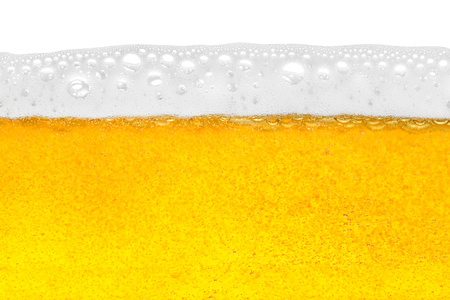 beer in close-up shot Stock Photo