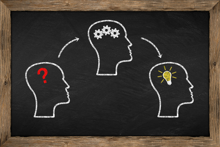 foundation problems: brainstorm concept on chalkboard