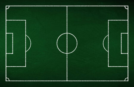 strategically: green soccer tactic board