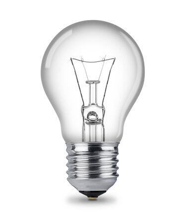 classic light bulb: classic light bulb isolated Stock Photo