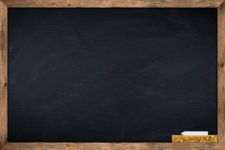 blackboard met houten frame